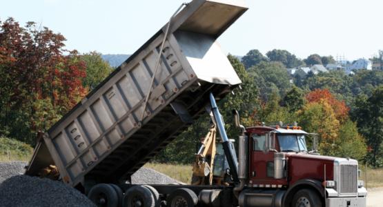 dump-truck-at-work